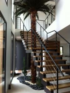 Jv concept conception et r alisation d 39 int rieur au - Amenagement cage d escalier ...