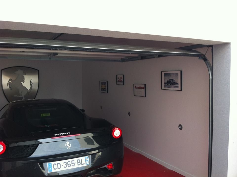 Jv concept conception et r alisation d 39 int rieur au for Garage interieur